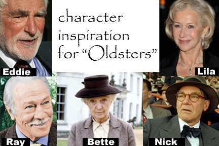 Characters for Oldsters