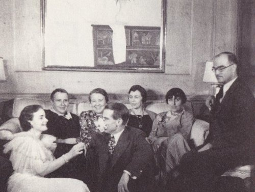 Gertrude Stein, Alice B. Toklas, Thornton Wilder & friends