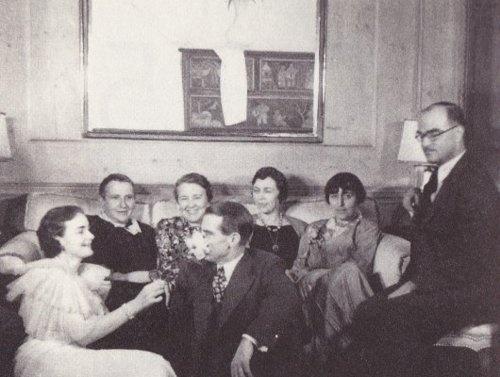Gertrude Stein, Alice B. Toklas, Thornton Wilder & friends